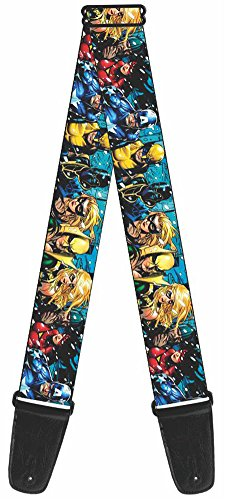 Buckle-Down GS-WMC005 Marvel Universe Guitar Strap -
