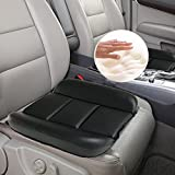 Big Hippo Memory Foam Seat Cushion Multi-Use as Lumbar Support Cuhion Sciatica, Back Pain, Coccyx Pain & Tailbone Pain Relief, Chair Support- Fit office chair, car seat, wheelchair