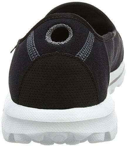 Shoe Black Slip Women's Skechers Go On White Performance Walking Walk Rxqqw508I