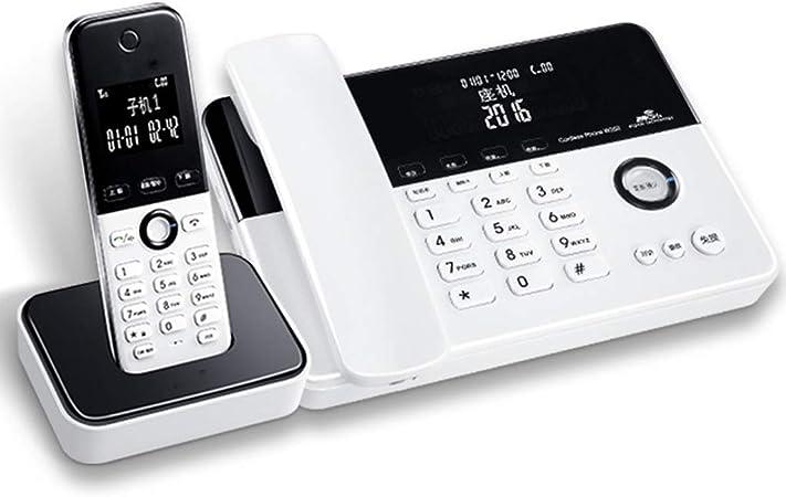 Yuanyuanliu Oficina En Casa Línea Fija Teléfono Inalámbrico Teléfono Fijo Inalámbrico para Niños: Amazon.es: Hogar