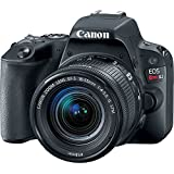 Canon EOS Rebel SL2 DSLR Camera with 18-55mm Lens - Black (Certified Refurbished)