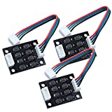 TL-Smoother 3D Printer Smoother, Kit Addon Module 3D Printer Stepper Motor Drivers Pattern Elimination Motor Clipping Filter, Pack of 3