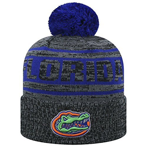 Top of the World Florida Gators Official NCAA Cuffed Knit Sockit to Me Stocking Stretch Sock Hat Cap 467924