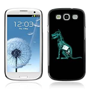 Designer Depo Hard Protection Case for Samsung Galaxy S3 / X-Ray Dog Ate Homework