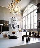 Delonghi DEDICA 15-Bar Pump Espresso Machine Coffee Maker, 220 Volts (Not for USA - European Cord), White