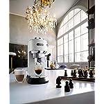 DeLonghi-EC685W-Macchina-per-caff-Espresso-Manuale-1350-W-2-Litri-0-Decibel-Acciaio-Inossidabile-Bianco