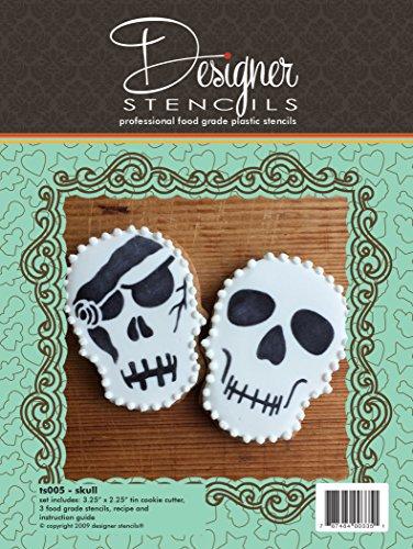 Halloween Skull Stencil and Cookie Cutter Set by Designer Stencils