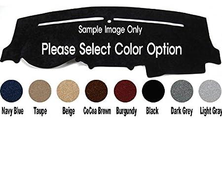 Premium Carpet Dash Cover Mat for 1995-1996 Chevy Silverado Pickup Black Custom made