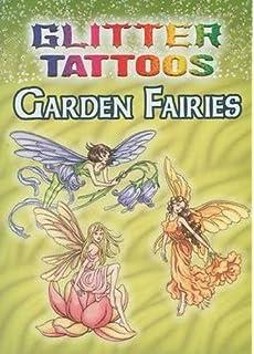 glitter tattoos garden fairies dover tattoos