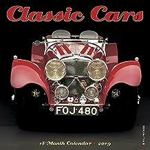 Classic Cars Mini 2019 Wall Calendar