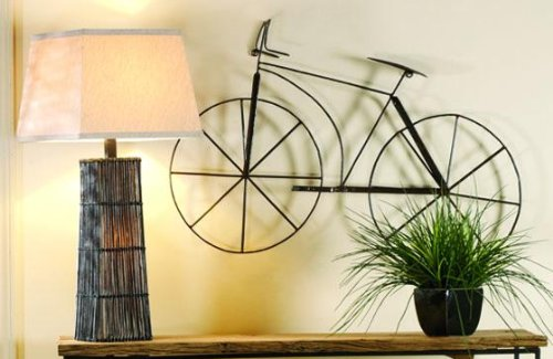 Amazon.com: Bicycle Wall Sculpture, 24.5\