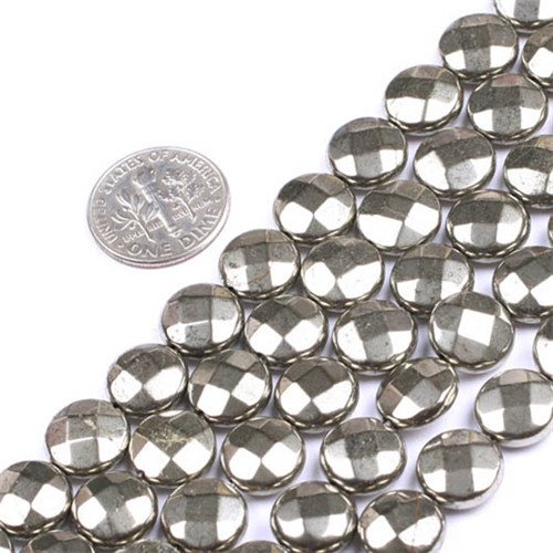 10 Mm Faceted Coin - 3