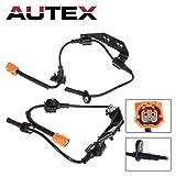 AUTEX 2PCS ABS Wheel Speed Sensor Rear Left & Right