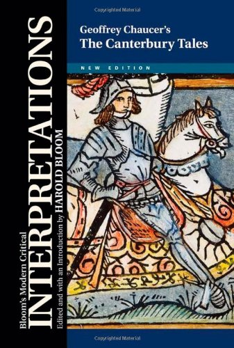 Geoffrey Chaucer's the Canterbury Tales (Bloom's Modern Critical Interpretations (Hardcover))