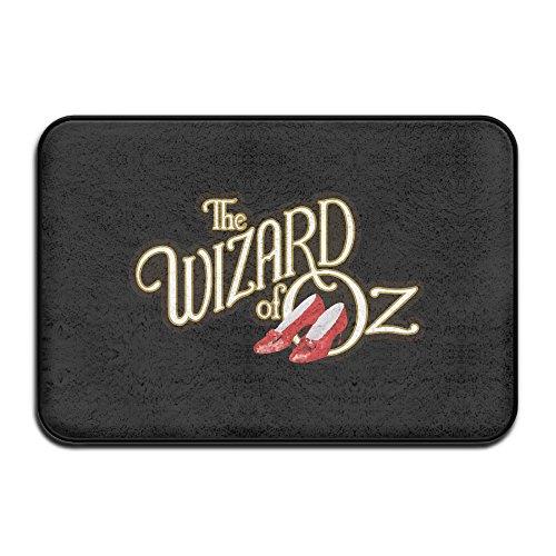 Wizard Of Oz Door - The Wizard Of Oz Non-Slip Entrance Indoor/Outdoor/Front Door/Bathroom Mats 60x40x1CM