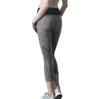 Amazon.com: DEWIN - Mallas de fitness para mujer, pantalones ...