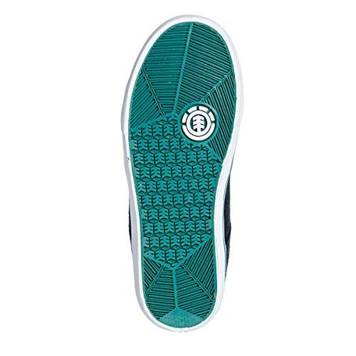Element youth winston a skate shoes-indigo