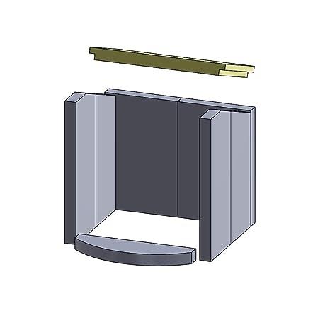 Flamado Vermiculita - Goma de tracción (360 x 215 x 30 mm)