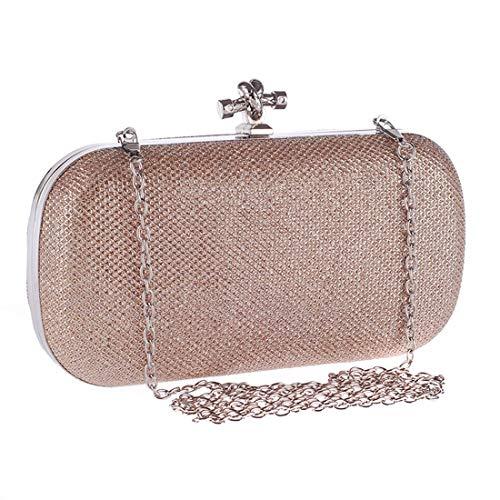 argento Clutch Fashion colore Moda Evening Women Bag Champagne Banquet Classic versatile Igspfbjn EgYvZqaWg