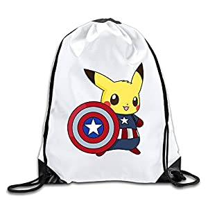U.T.HOME Fairy Captain Game Drawstring Backpack/Sackpack Gym Bag/Daypack