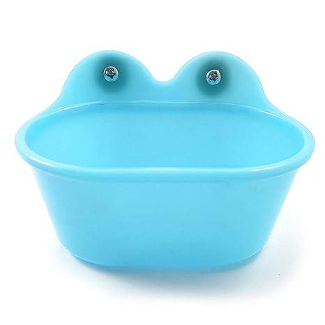 QPllRZZ - Bañera de pájaro de Larga duración, no tóxica, pequeña ...