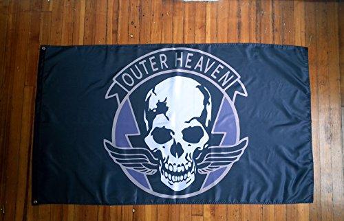 ZanzibarLand Outer Heaven Flag – Show Your Support for VENOM SNAKE