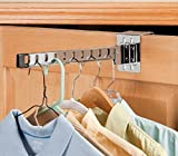 $14.95Over-the-Door Foldable Chromed Metal Hanger Holder - Shirts Drying Rack - 10 Slots - 14.5