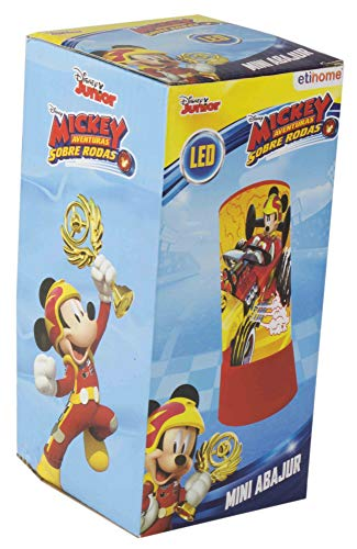 Abajur Mickey Etihome Abajur Mickey Multicor