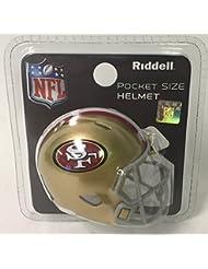 San Francisco 49ers Riddell Speed Pocket Pro Football Helmet - New in package