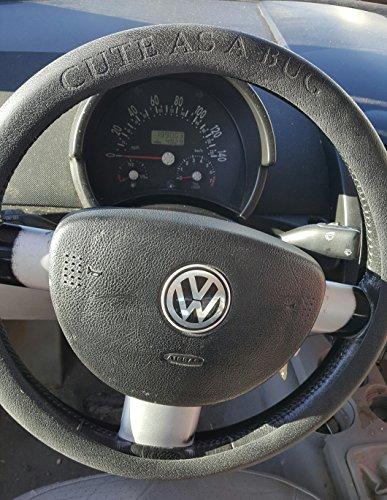 VW Beetle Cute As A Bug steering wheel cover -