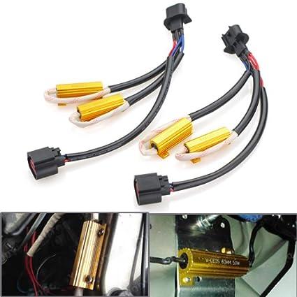 amazon com 2x error free h13 9008 plug and play never melt wiring rh amazon com Automotive Wire Harness Manufacturers USA Automotive Wiring Harness Manufacturers