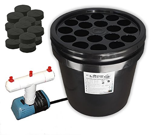 18 Site Aeroponic Plant Cloner - Clone Bucket 2.0 SM 18 Site From Hydro West by Clone Bucket