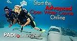 padi advanced open water - PADI Online Advanced Open Water Diver Course Scuba Diving eLearning Certification On Line Classroom Dive Books Intermediate Class