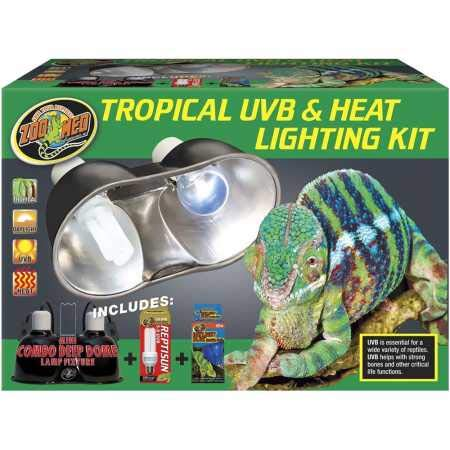 Zoo Med Tropical UVB Heat Lighting Kit by Zoo Med