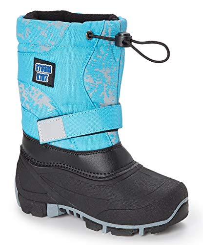 Toddler//Little Kid//Big Kid Many Colors Storm Kidz Unisex Cold Weather Snow Boot