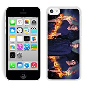 Custom Design With Delicate Supernatural White iPhone 5c 5th Generation Case