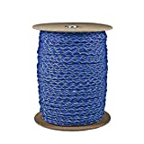 Paracord Planet Brand Nylon 550lb Type III Commercial Grade 7 Strand Paracord Made in USA 1000 Ft Spools (Blue Camo)