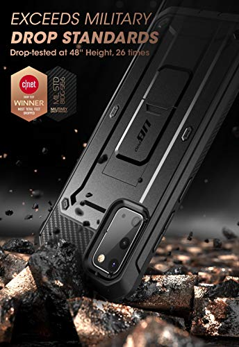 SUPCASE UB Pro Series Designed for Samsung Galaxy S20 / S20 5G Case (2020 Release), Full-Body Dual Layer Rugged Holster...