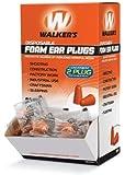 Walker's Game Ear Foam Ear Plugs (200 Pair Box)