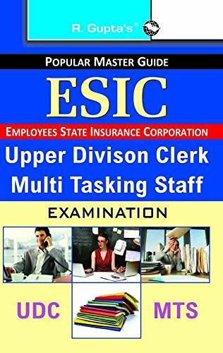 ESIC?Upper Division Clerk & Multi Tasking Staff Exam Guide PDF