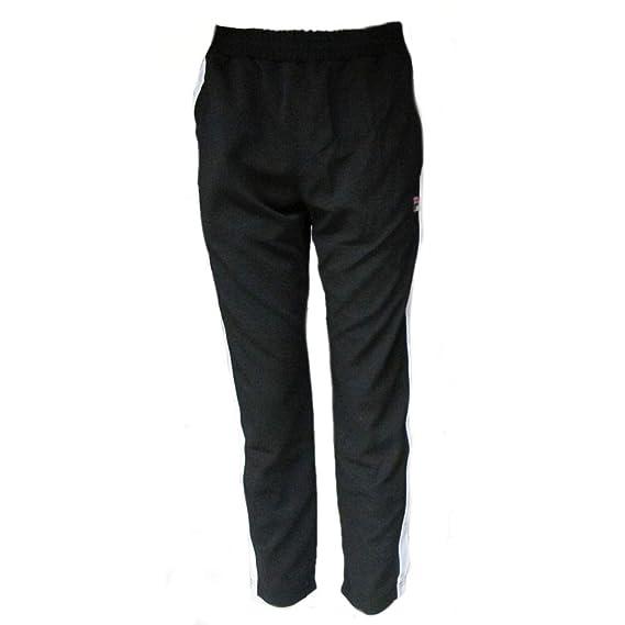 e280748041fef Fila Vintage White Line Mens Friars Tearaway Track Pants: Amazon.co.uk:  Clothing
