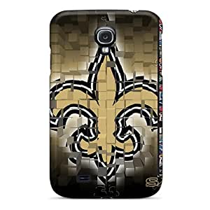 Awesome JSJ17083bVwX Jamiemobile2003 Defender Hard Cases Covers For Galaxy S4- New Orleans Saints