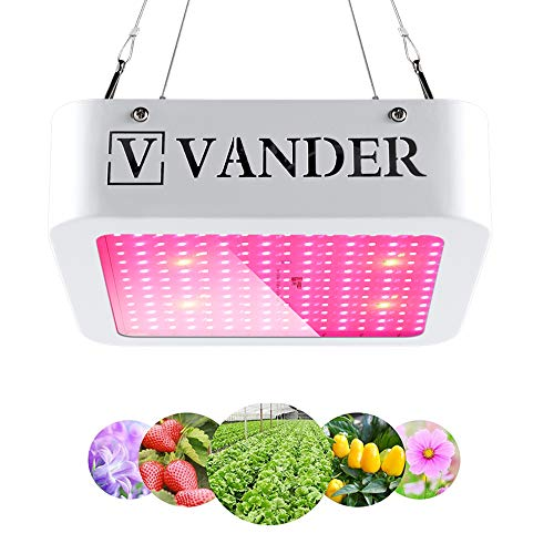 Vander Led Grow Light - 1000W Full Spectrum Grow Lamps for Indoor Plants 96 LEDs