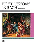 img - for Bach -- First Lessons in Bach (Alfred Masterwork Edition) book / textbook / text book