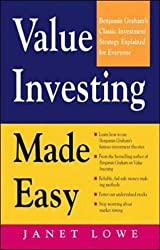 Value Investing Made Easy: Benjamin Graham's Classic Investment Strategy Explained for Everyone by Lowe, Janet (1997) Paperback