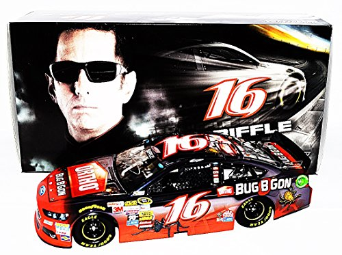 (AUTOGRAPHED 2015 Greg Biffle #16 Ortho Bug B Gon Racing (Roush Team) COLOR CHROME Signed Lionel 1/24 Scale NASCAR Diecast Car with COA (#07 of only 72 produced!))