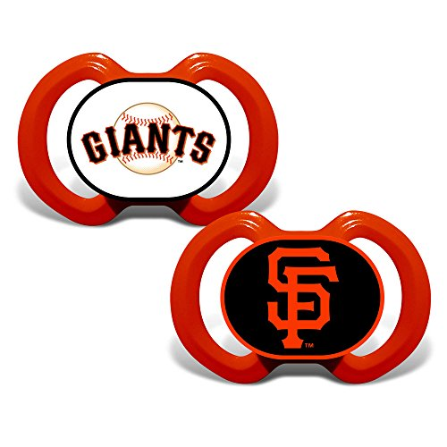 San Francisco Giants set of 2 Pacifiers Made in the USA BPA Free 3 months and older