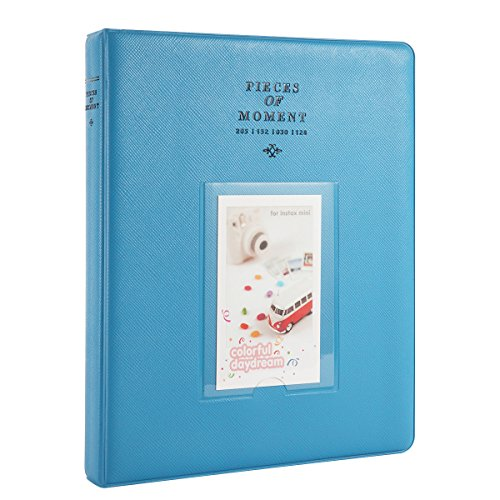 Woodmin 128 Pockets Fujifilm Instax Mini Photo Album,3-inch Photo Book for Fuji Instant Mini 8 8+ Mini 9 70 7s 25 50s 90, Polaroid Z2300, PIC-300P Films, Ticket Album, Card Holder(Deep Blue) Good Christmas Story Quotes