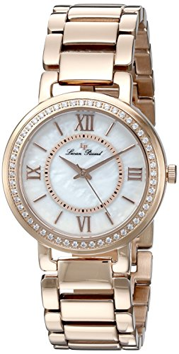 Lp Lucien Piccard (Lucien Piccard Women's LP-11902-RG-22MOP Analog Display Rose Gold-Tone Watch)