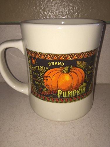 Starbucks White Pumpkin Coffee Mug ( Halloween, Colors may -